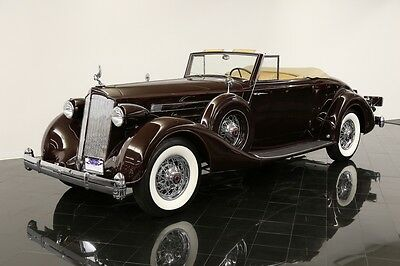1936 Packard Twelve Coupe Roadster 1407 1936 Packard Twelve 1407 Coupe Roadster