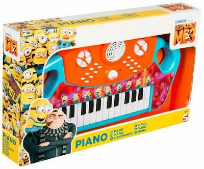 Despicable Me 3 Les Minions Grand Électrique Clavier Piano Enfants Officel