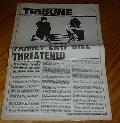 Tribune Australian Communist Weekly Newspaper Feb 1975 political / protest mag