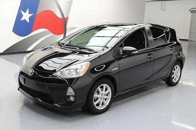 2014 Toyota Prius C Base Hatchback 4-Door 2014 TOYOTA PRIUS C THREE HYBRID NAV REARCAM ALLOYS 41K #077515 Texas Direct