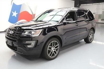 2017 Ford Explorer Sport Sport Sport Utility 4-Door 2017 FORD EXPLORER SPORT AWD ECOBOOST NAV THIRD ROW 28K #B23288 Texas Direct