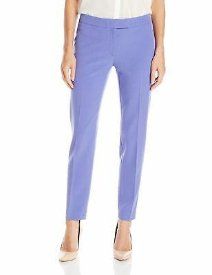 Anne Klein NEW Purple Chicory Women's Size 14 Ankle Dress Pants $79 #151