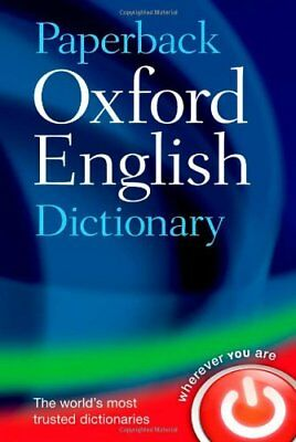 Paperback Oxford English Dictionary,Oxford Dictionaries- 9780199640942