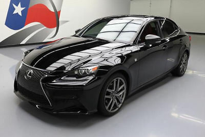 2015 Lexus IS  2015 LEXUS IS250 F-SPORT SUNROOF NAV CLIMATE SEATS 30K #072941 Texas Direct Auto
