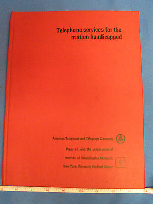 1968 American Telephone & Telegraph Comp. Services For The Motion Handicapped