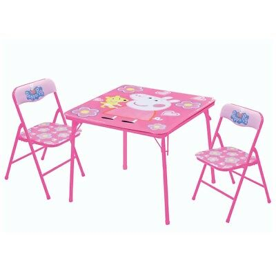 Peppa Pig - 3 piece table and chair set
