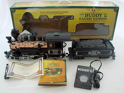 Limited Edition The Buddy L Railway Express Santa Fe Locomotive and Tender