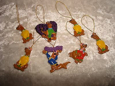 Scooby Doo Christmas Ornaments Miniature ( 7 )