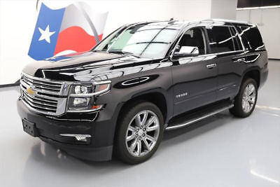 2015 Chevrolet Tahoe LTZ Sport Utility 4-Door 2015 CHEVY TAHOE LTZ 4X4 SUNROOF NAV DVD REAR CAM 29K #503334 Texas Direct Auto