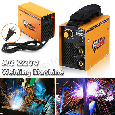 Portable MINI IGBT ZX7-200 DC Welder Inverter 200A ARC Soldering Welding Machine