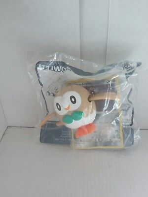 mcdonalds happy meal toy pokemon sun & moon rowlet