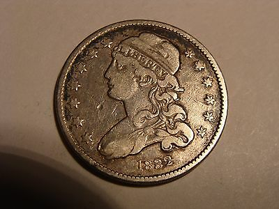 * 1832 Capped Bust Quarter - nice !                  [t]