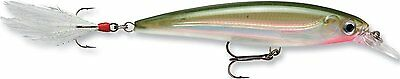 Rapala XRAP Fishing Lure - Xtreme Action Slashbait - Darting Action Olive Green
