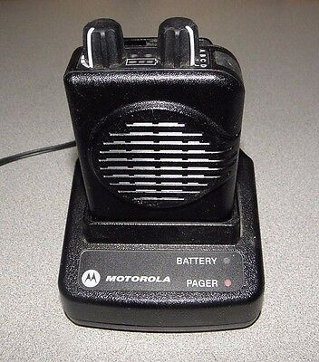 Motorola Minitor V (5) Single Channel VHF Pager 151-159 Mhz A03KMS7238BC