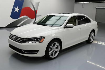 2015 Volkswagen Passat TDI SE Sedan 4-Door 2015 VOLKSWAGEN PASSAT TDI SE SEDAN DIESEL REAR CAM 43K #085936 Texas Direct