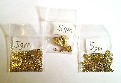 5 GRAMS GOLD NUGGETS, EACH PACKET SOLD SEPERATELY, Buy 1 or more FREE SHIPPING