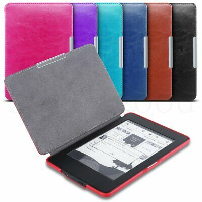 Slim Magnetic Leather Smart Case Cover for Amazon Kindle Paperwhite All version