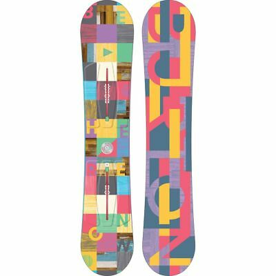 Burton Feather Damen Snowboard Set 2017 mit Bindung Citizen