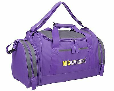 Ladies & Girls Purple Sports & Gym Holdall Bag SPORTS TRAVEL SCHOOL - MIG 07M