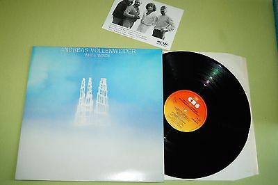 Andreas Vollenweider – White Winds, LP, NL 1984, inkl Foto, mint-