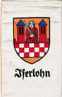Fanion / Pennant : ISERLOHN.  ALLEMAGNE.   * ROTARY CLUB INTERNATIONAL *