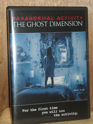 Paranormal Activity: The Ghost Dimension (DVD, 2016) Chris J. Murray Brit Shaw