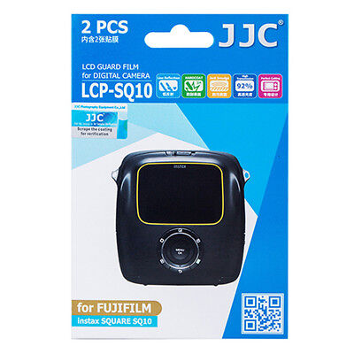 2x LCD Screen Display H3 Hard Protection for Camera Fujifilm Instax Square SQ10