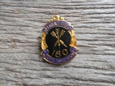 Vintage Clarence River 180 Darts Association badge dart club Denham Neal Treloar