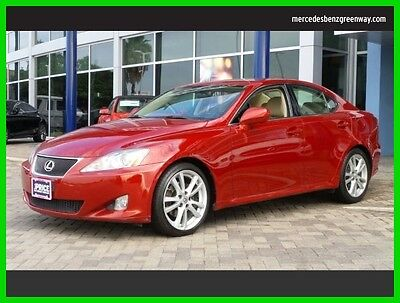 2007 Lexus IS Base Sedan 4-Door 2007 Used 2.5L V6 24V Automatic Rear Wheel Drive Sedan Premium
