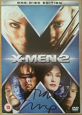X-Men 2 - Hand Signed DVD by Alan Cumming + CAO