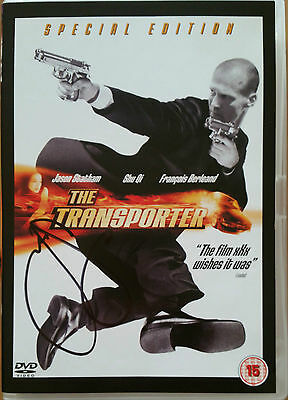 The Transporter (DVD, 2004) - special Edition  Hand Signed - Jason Statham + C0A