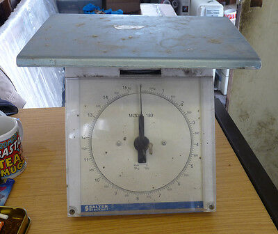 Old Royal Mail Parcel Letter scales by Salter Brecknell Model 180 D-50g  - 15kg