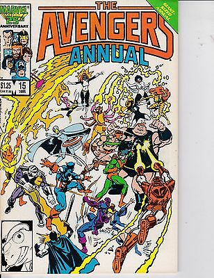 The Avengers Annual #15 NM- 9.2 1986 Marvel See My Store