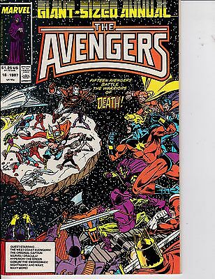 The Avengers Annual #16 NM 9.4 1987 Marvel See My Store