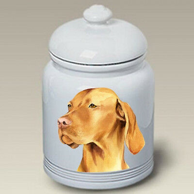 Ceramic Treat Cookie Jar - Vizsla (BVV) 23052