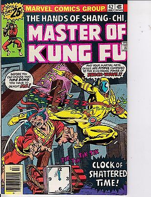 Master Of Kung Fu #42 VF+ 8.5 1976 Marvel See My Store