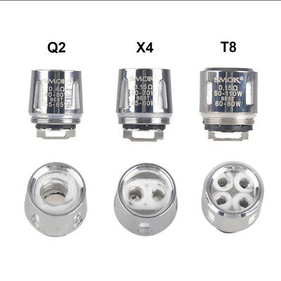 1/3pcs Fashion Smok TFV8 Coil Head Cloud Beast Replacement For V8 Baby X4 Q2 T8