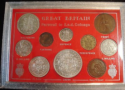1937 Vintage 10 Coin Set Includes Silver Crown Ideal 80Th Birthday Gift
