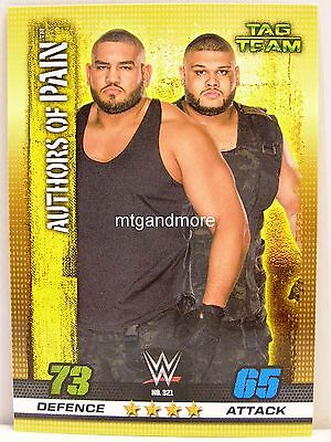Slam Attax - #321 Authors of Pain - 10th Edition