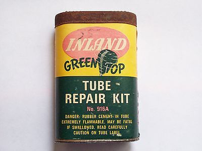 VINTAGE INLAND GREEN TOP TUBE REPAIR KIT circa 1945