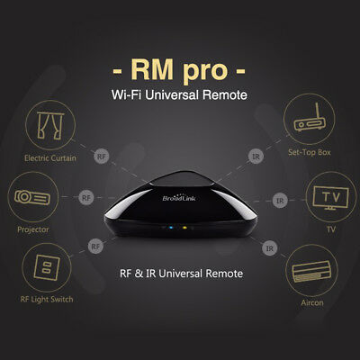 Broadlink RM03 Pro Smart Home WIFI+IR+RF Remote Control Switch  For Android&IOS