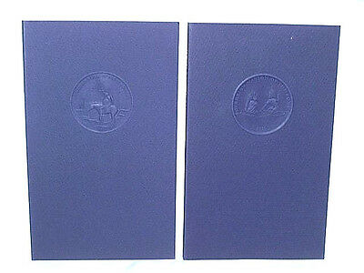 2 Indian Tribal Books, Signed & Numbered ( Comanche & Ponca ).