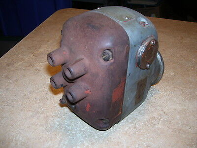 Antique Tractor Part 4 Cyclinder Engine Magneto