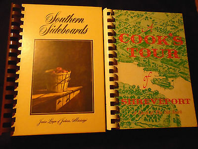 SHREVEPORT LOUISIANA and JACKSON MISSISSIPPI Junior League Southern Cookbook Lot