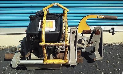 Racine Ultra Rail Drill - Model Ud71 - Railroad Track Press Portable Gas Powered