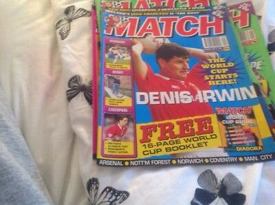 Football Magazine Match March18 1994