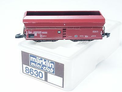 8630 Marklin Z-scale Self-unloading hopper car DB 4 axle metal wheels
