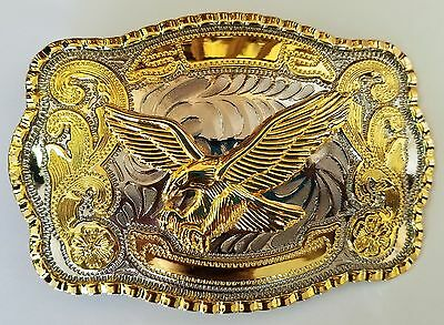 Eagle Fly Wing Animal Long Huge Rodeo Big Cowboy Western Shine Belt Buckle