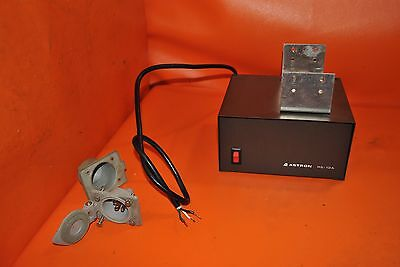 ASTRON RS-12A Linear Power Supply with RACK