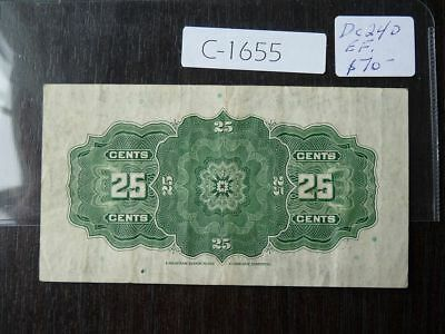 Canada Banknote  1923 25 Cent Shinplaster High Quality    Value 70.00  C1655